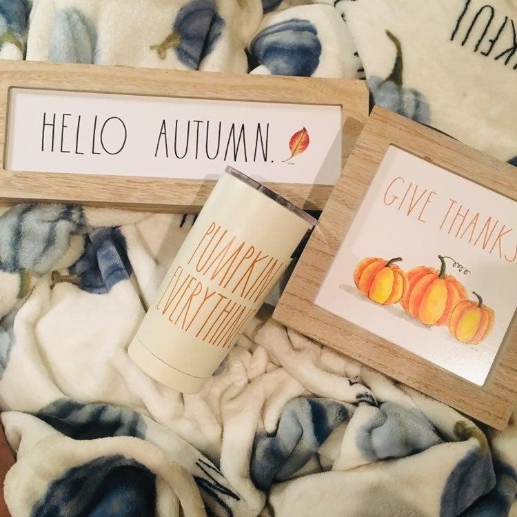 Rae Dunn Fall Autumn Pumpkin Set