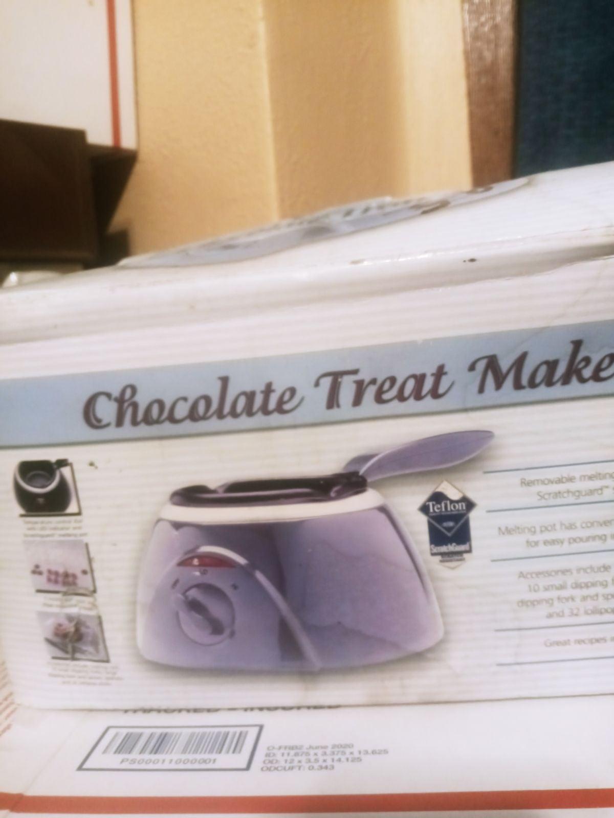 New in Box Chocolate Treat Maker