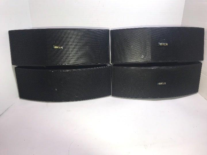 4 KLH Surroundsound speakers /  Brackets