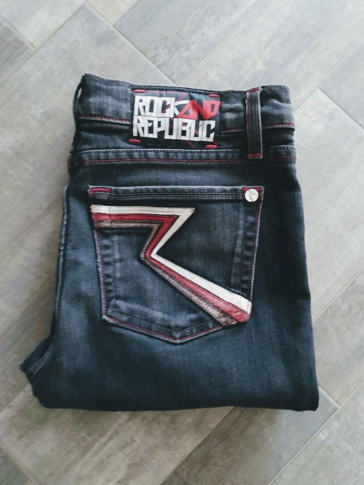 Rock And Republic Halen Straight Jean