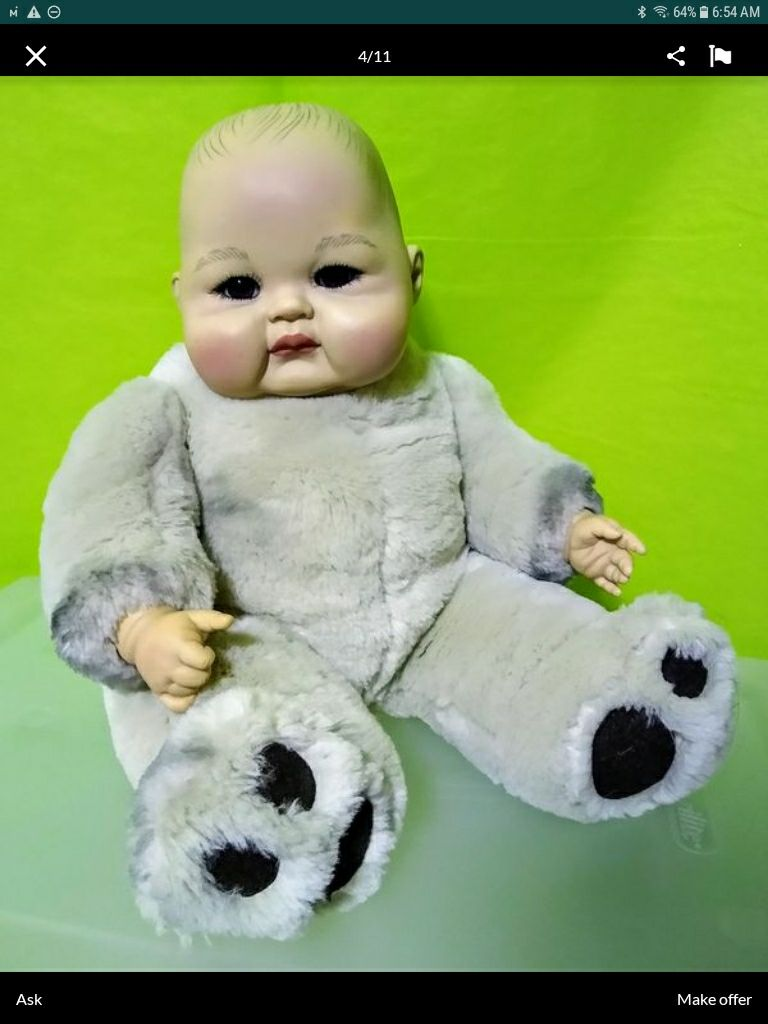 Reborn Baby doll by Ping Lau