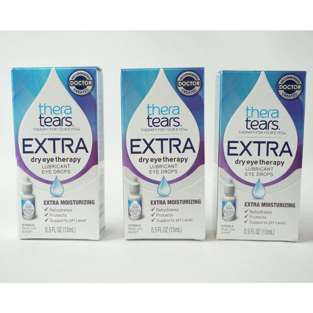 Thera Tears Dry Eye Therapy .5fl oz (x3)