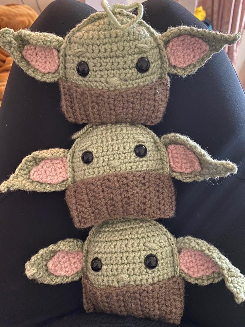 Set of three Baby yoda