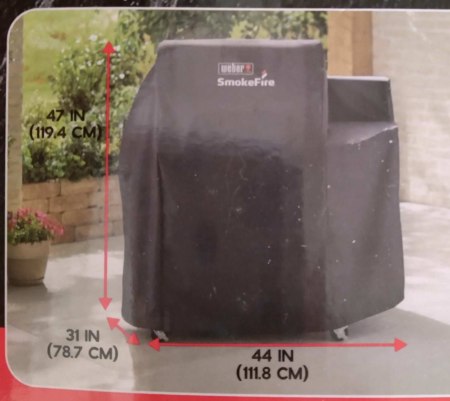 Weber 7190 pellet grill cover