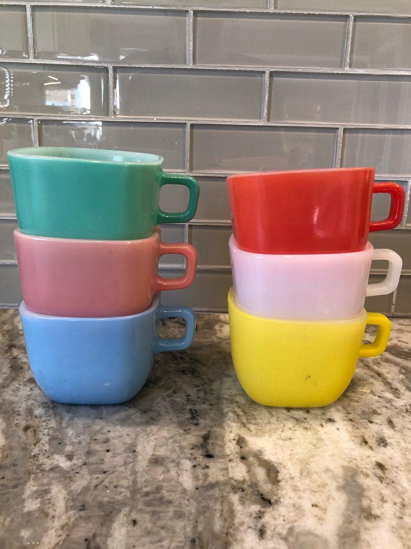 Vintage Lipton soup mugs