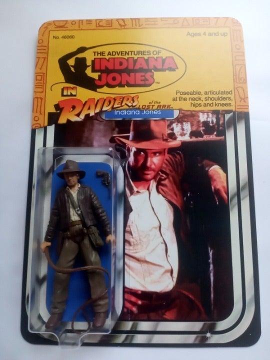 Custom Star Wars/Indiana Jones Carded
