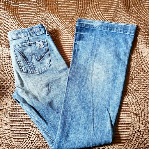 Cowgirl Tuff Flare Jeans