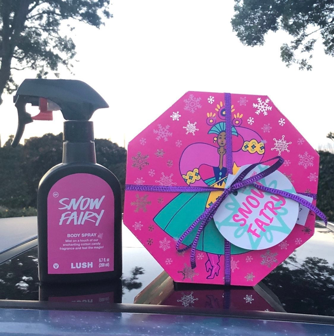 Lush Snow Fairy Spray & Gift Set