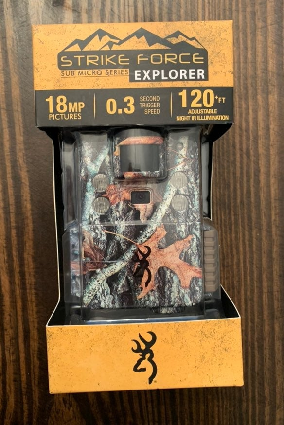 Browning Strike Force Trail Camera NEW