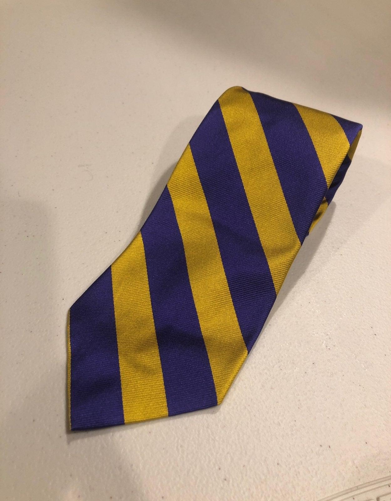 POLO Ralph Lauren Purple yellow tie