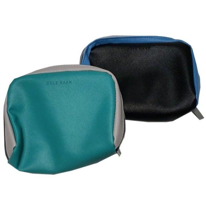 Cole Haan Travel Pouch Blue, Black