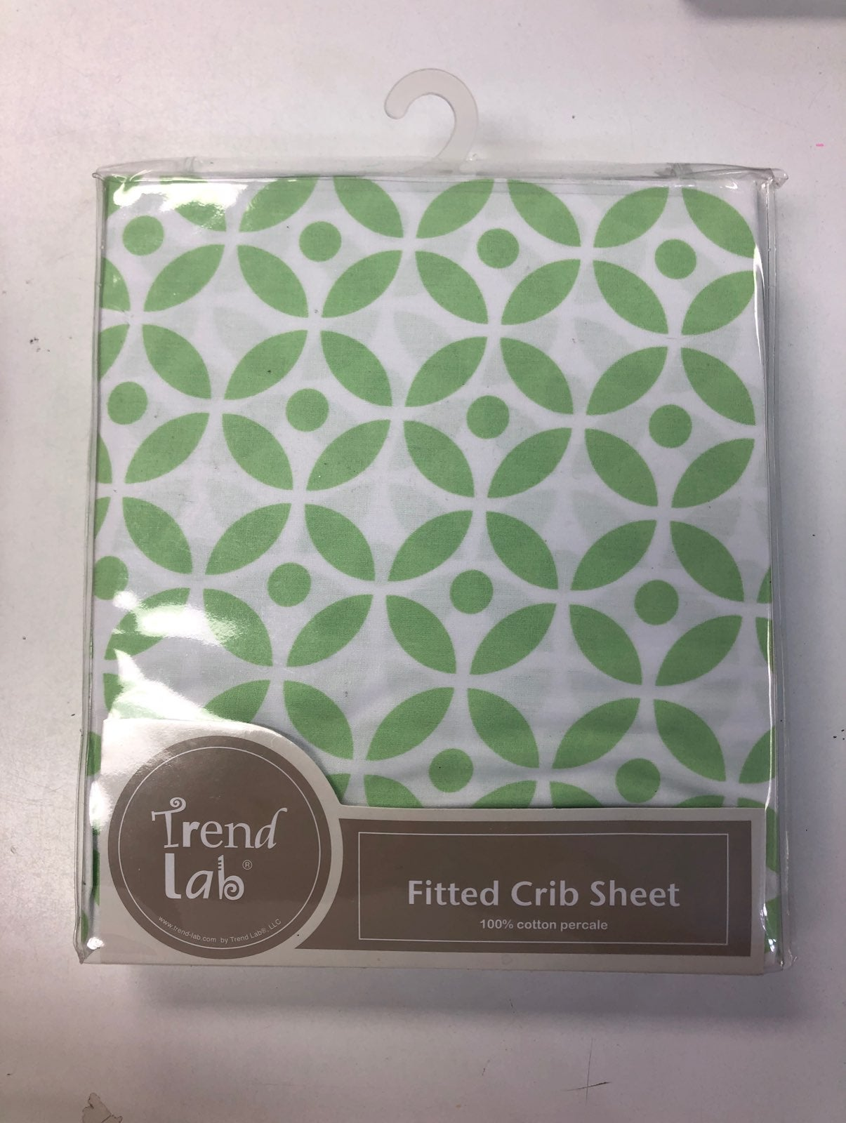 Trend lab fitted crib sheet