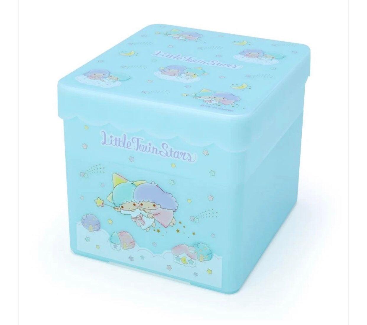 Little Twin Stars Storage Box w/Tray