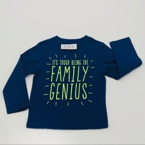 Children's Place Long Sleeve Blue 2T NWT