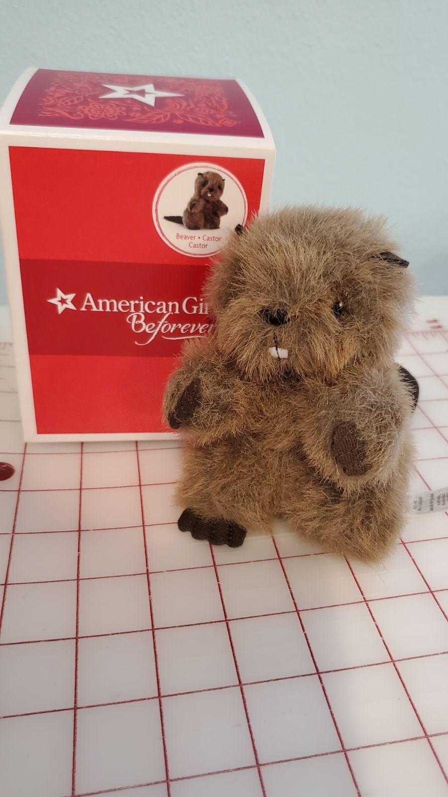 American Girl doll Kaya beaver