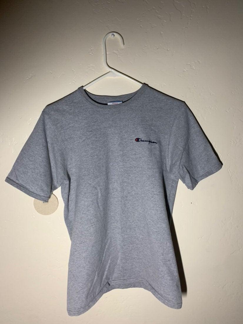 Champion gray shirt