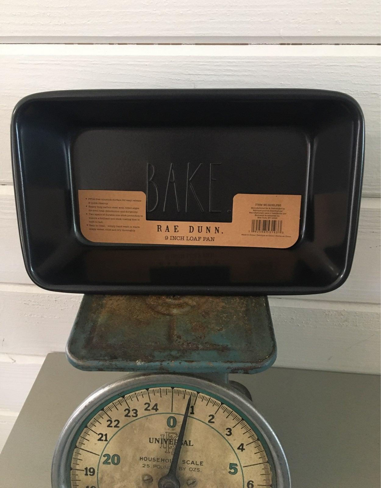 Rae Dunn BAKE Loaf Bread Pan