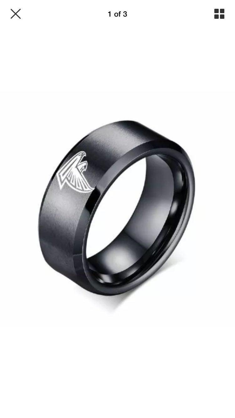 Atlanta Falcons Black Ring