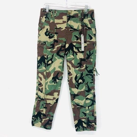 Marrakech Camo Cargo Green & Brown Pants