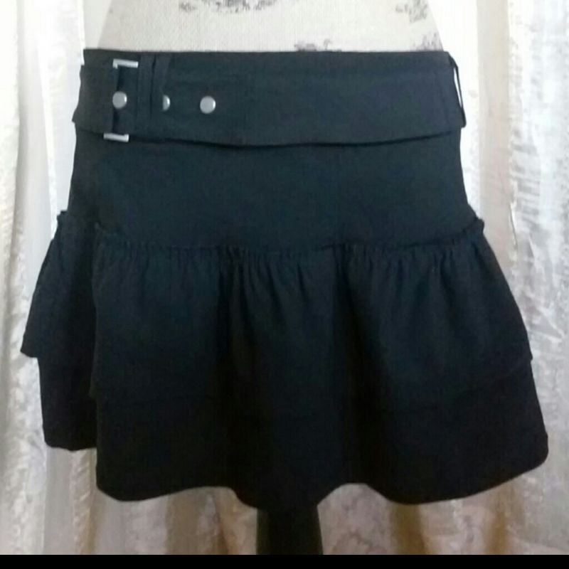 Abbey Dawn Romper Stomper Skirt Women/'s Tags Official