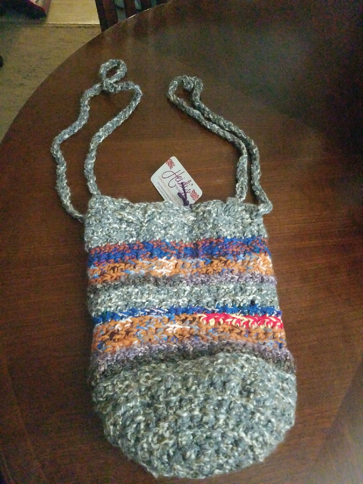 Crochet pouch purse