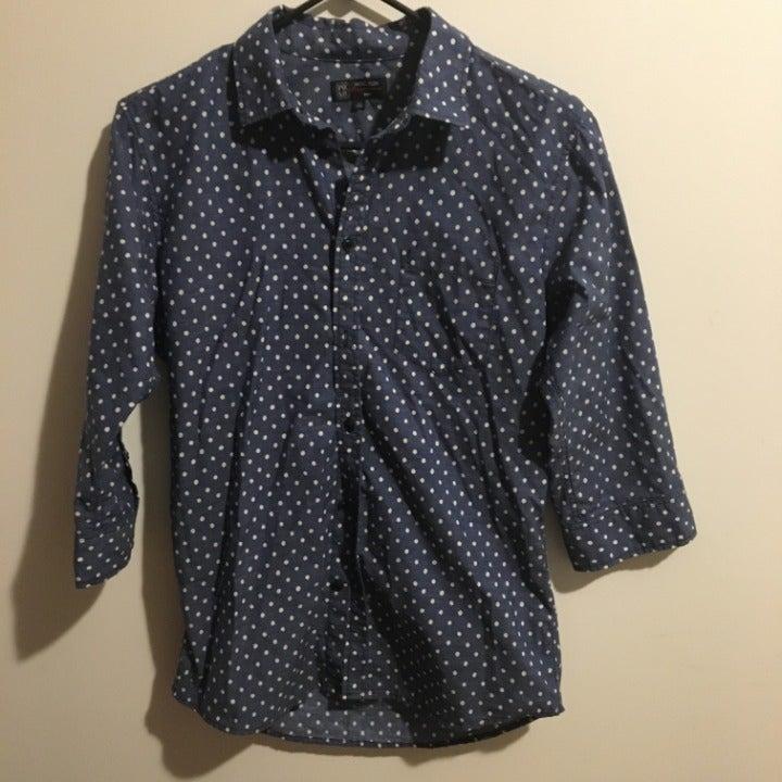 Michel Klein, Men, half-sleeve shirt, XS