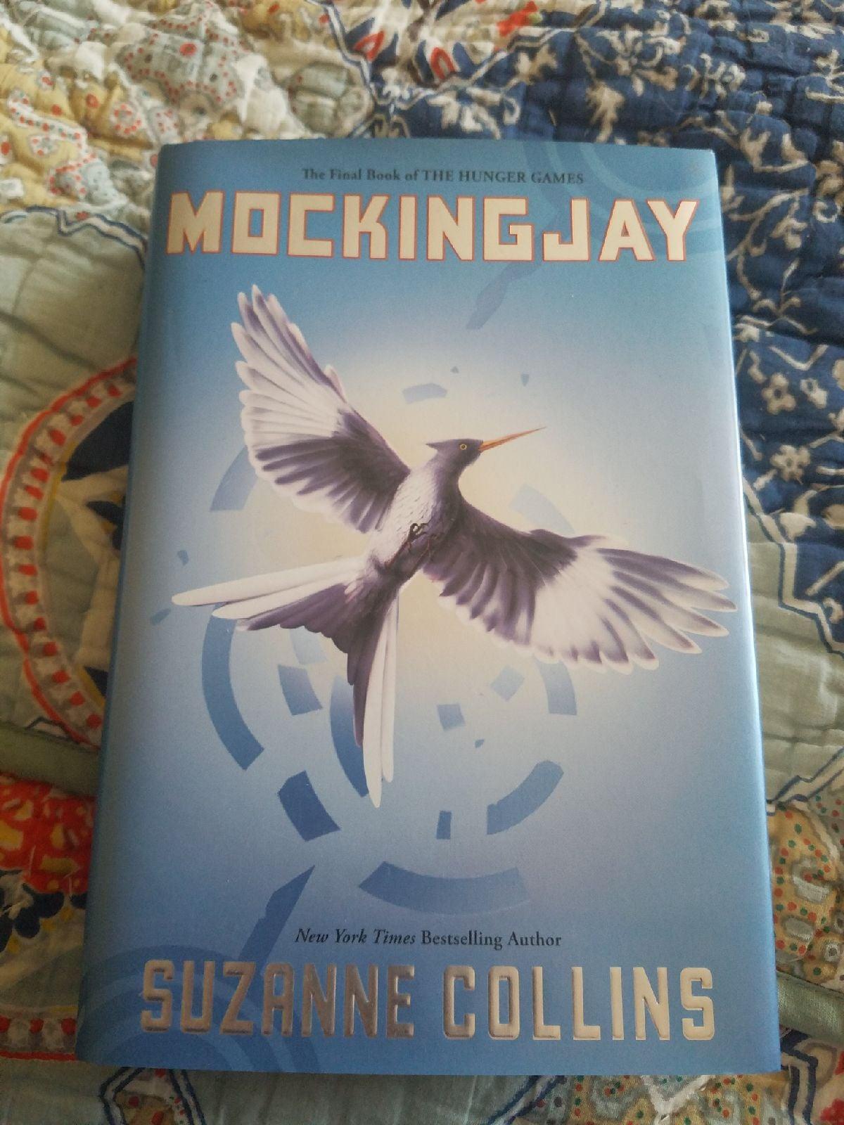 New Mockingjay Hunger Games Book