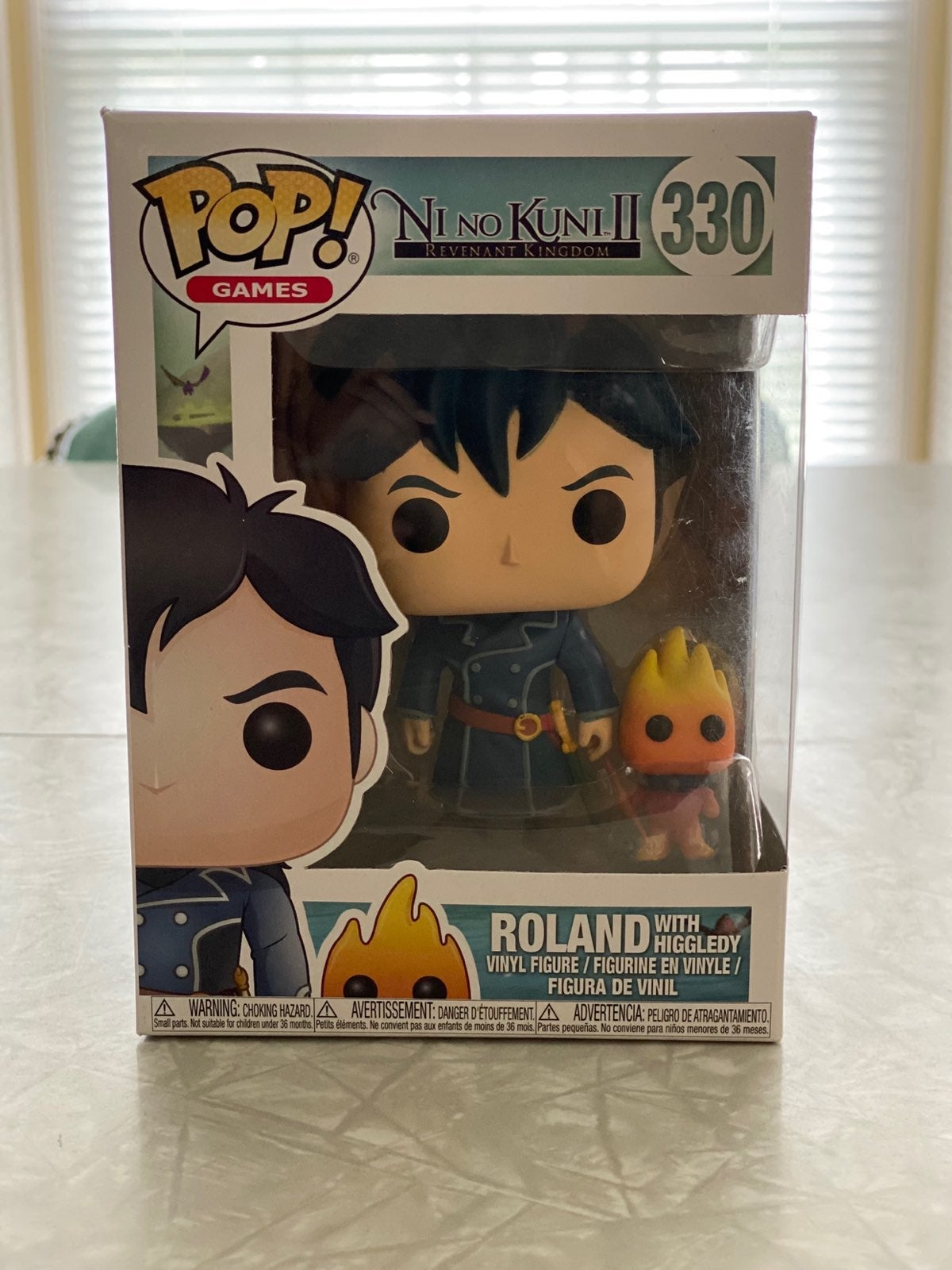 Pop! Games Roland with Higgledy # 330