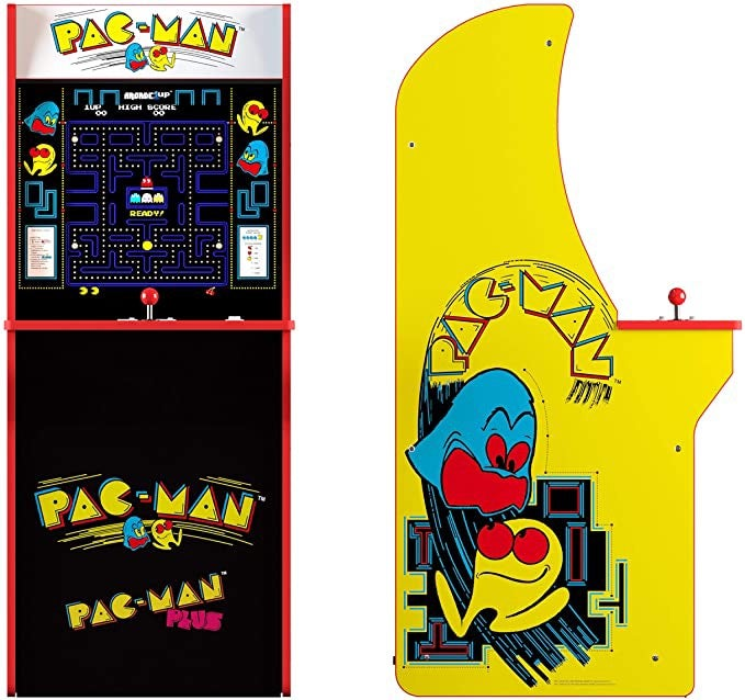 Pac-Man Classic Cabinet Home Arcade Game