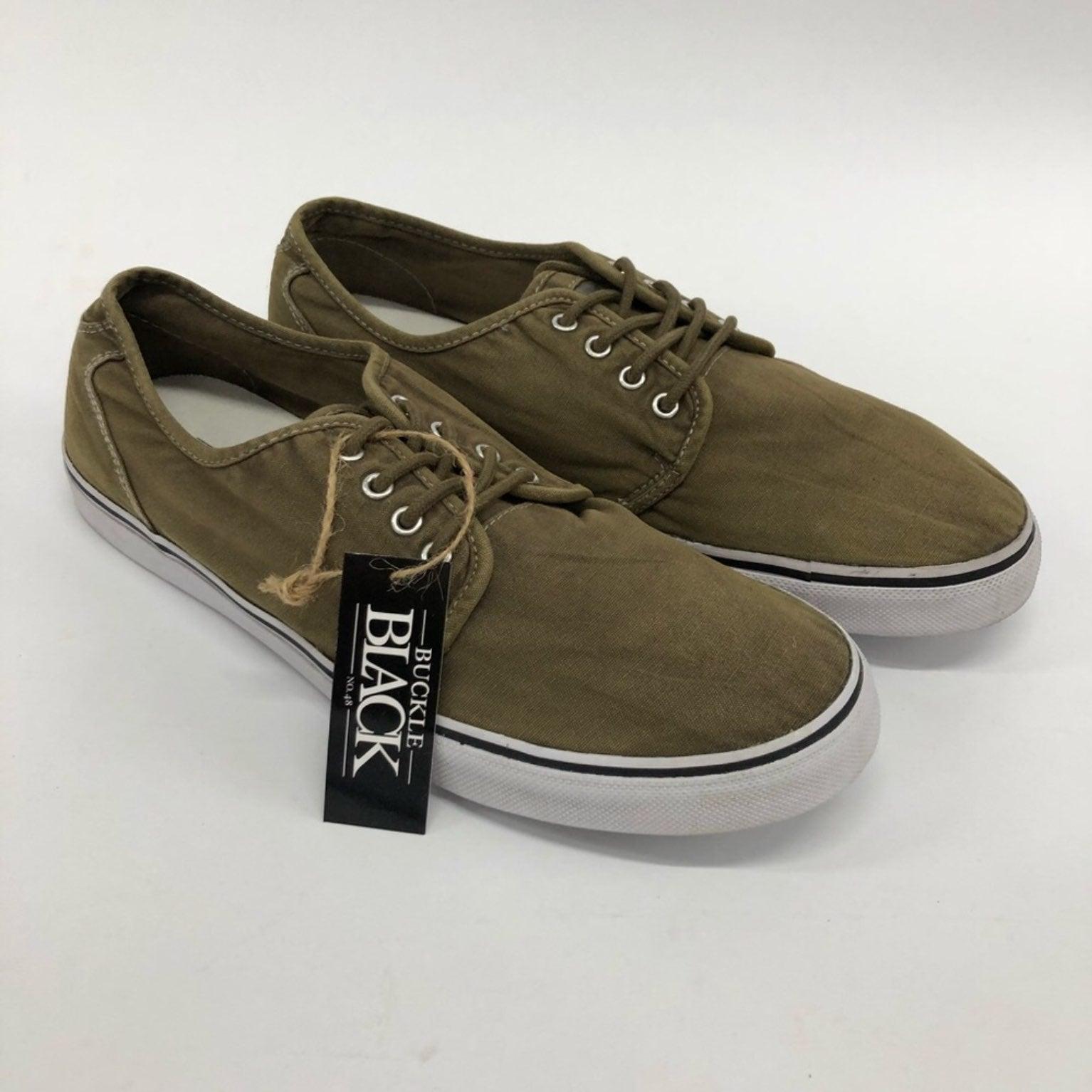 Buckle Mens Sneakers 10.5