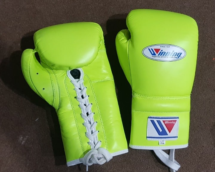 Winning Gloves, Neon Green , 8 To 20o