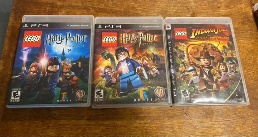 LEGO Harry Potter 1-4 5-7 Indiana Jones