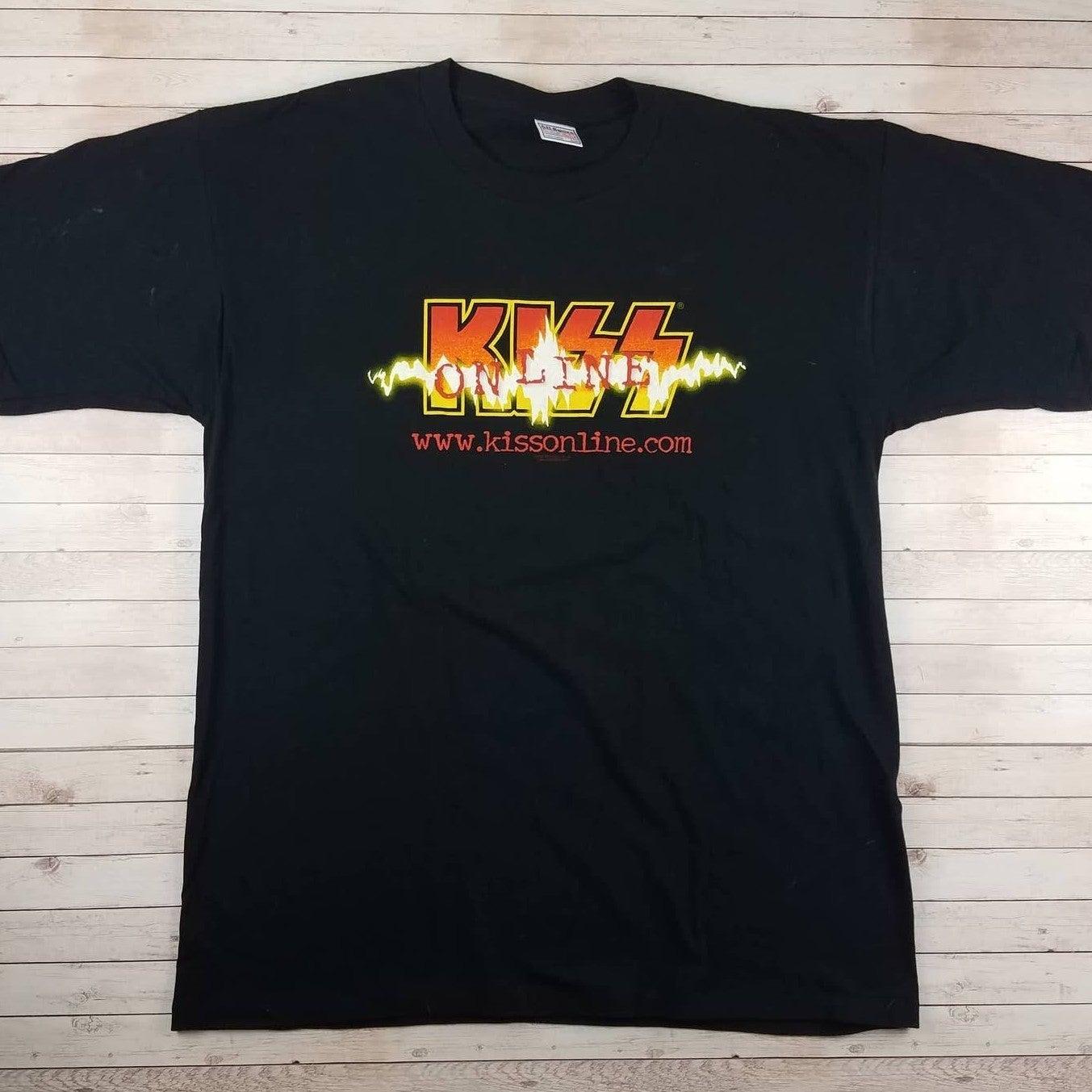 VTG 2000 KISS Online All Sport Tee Shirt