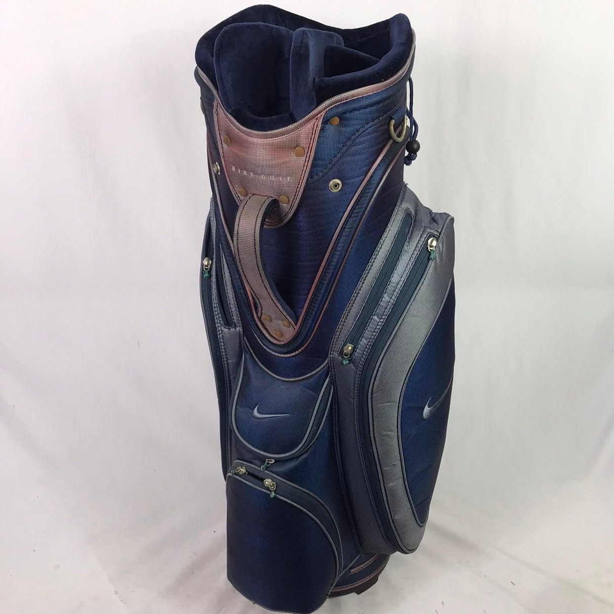 Vintage Nike Golf Cart Bag 7 Way.