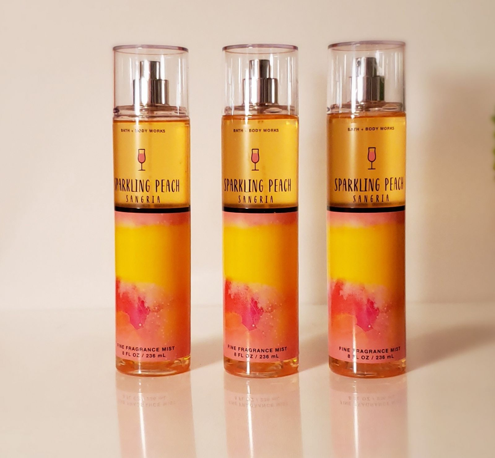 Bath and Body Works Sparkling Peach Sang