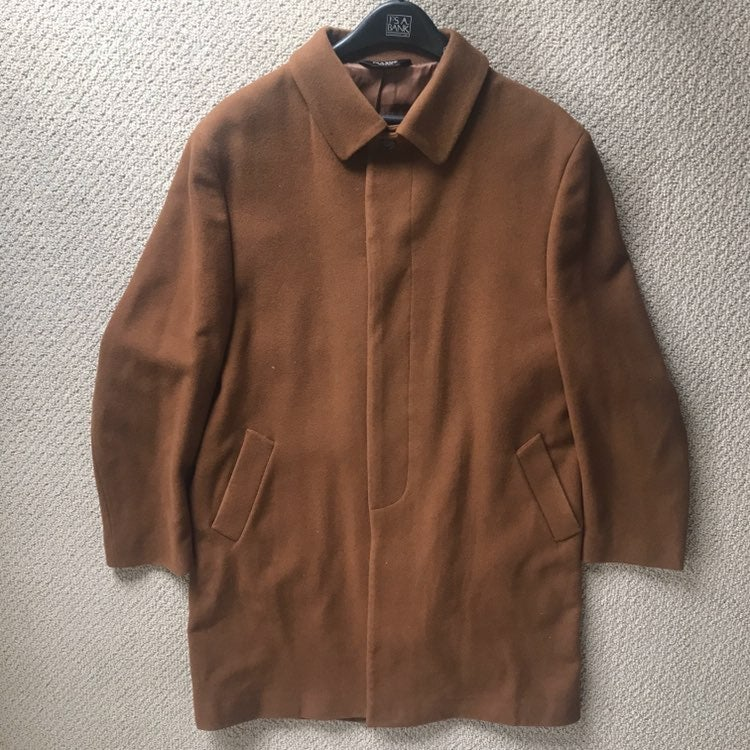 Jos A. Bank 100% Wool Men's Pea Coat 50L