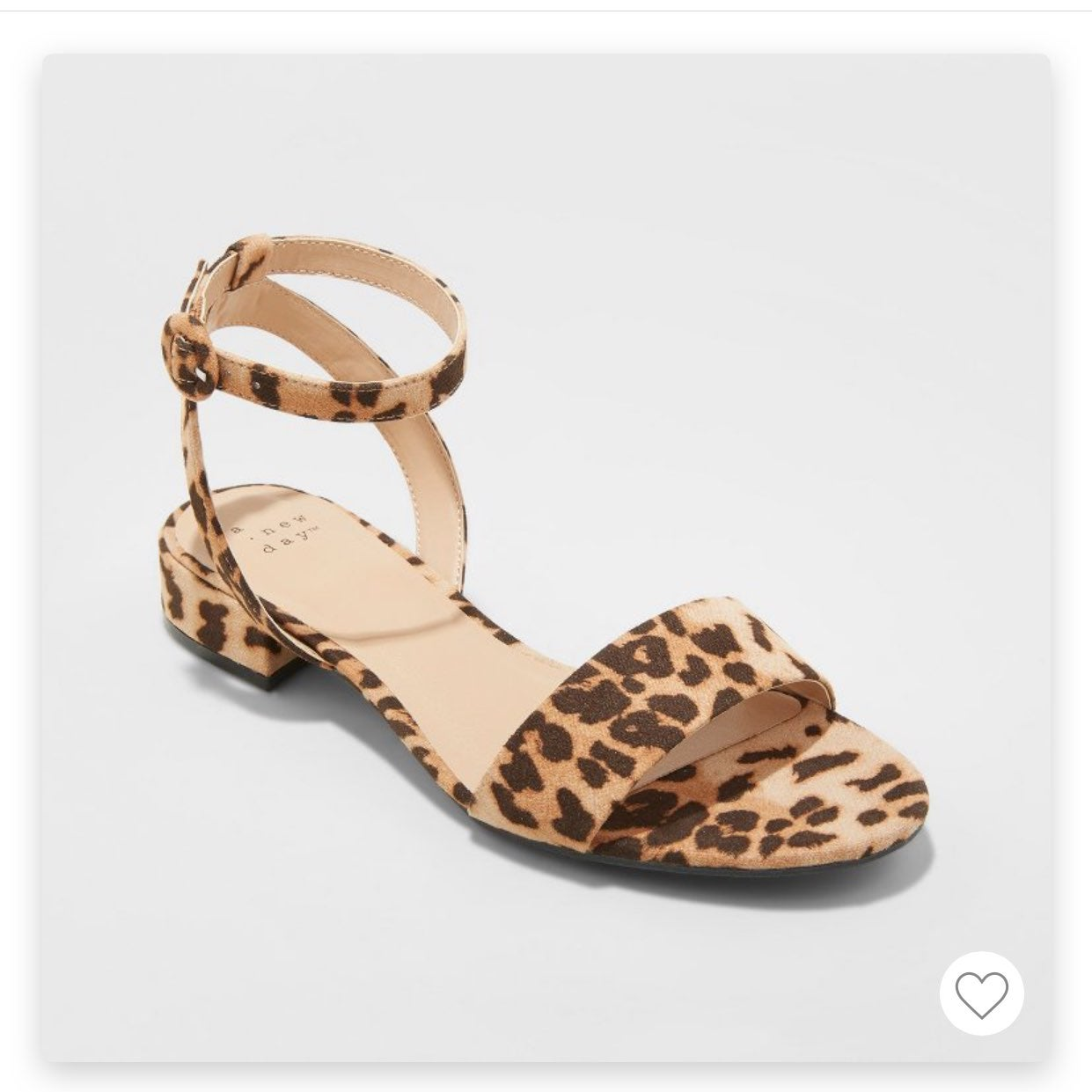 a new day Leopard Shoes   Mercari