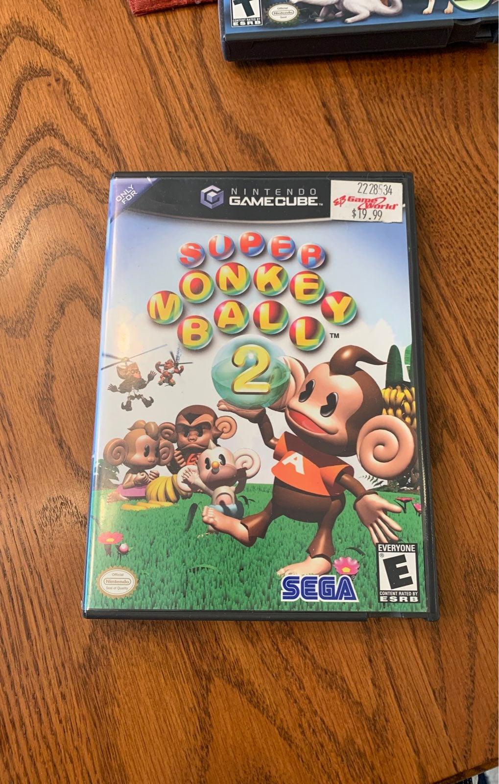 Super Monkey Ball 2 on Nintendo GameCube
