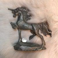 Pewter Unicorn Mystical Figurine