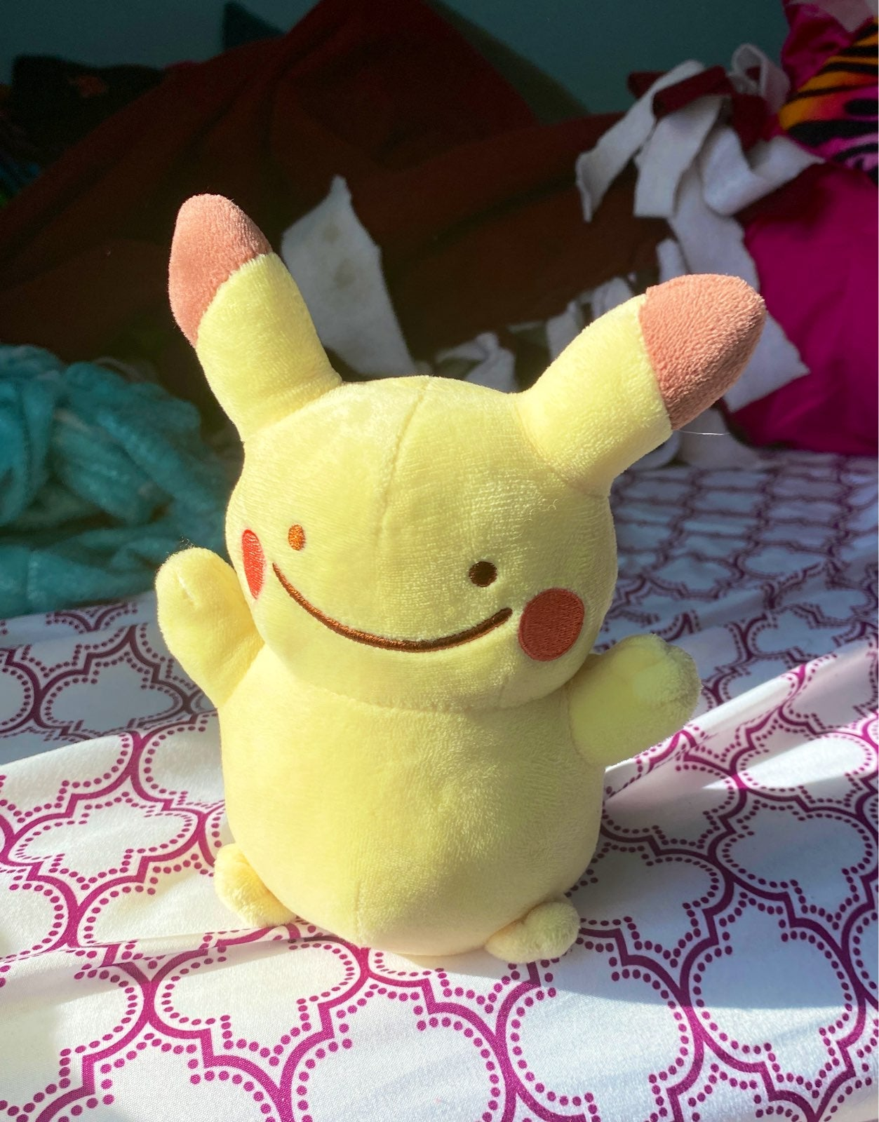 Ditto Pikachu Plush