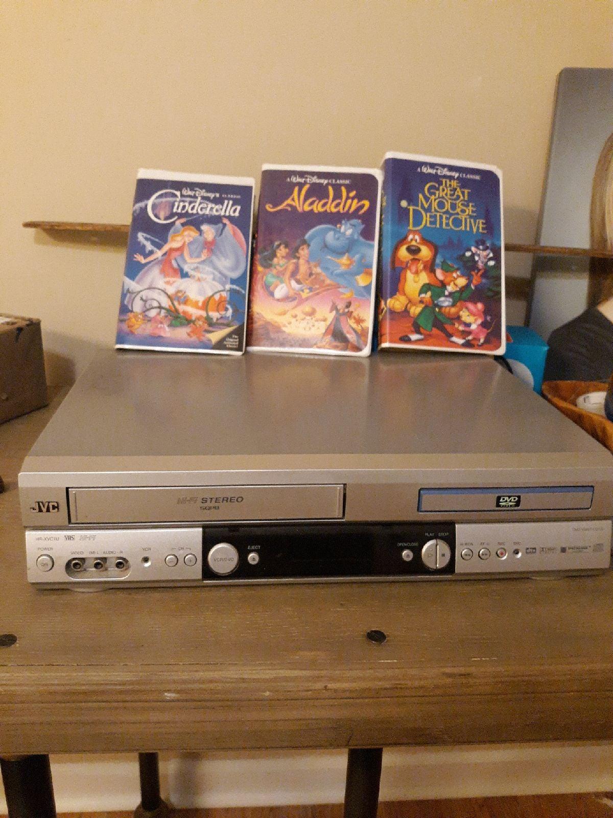 JVC HR-XVC1U DVD VHS Player HiFi Stereo