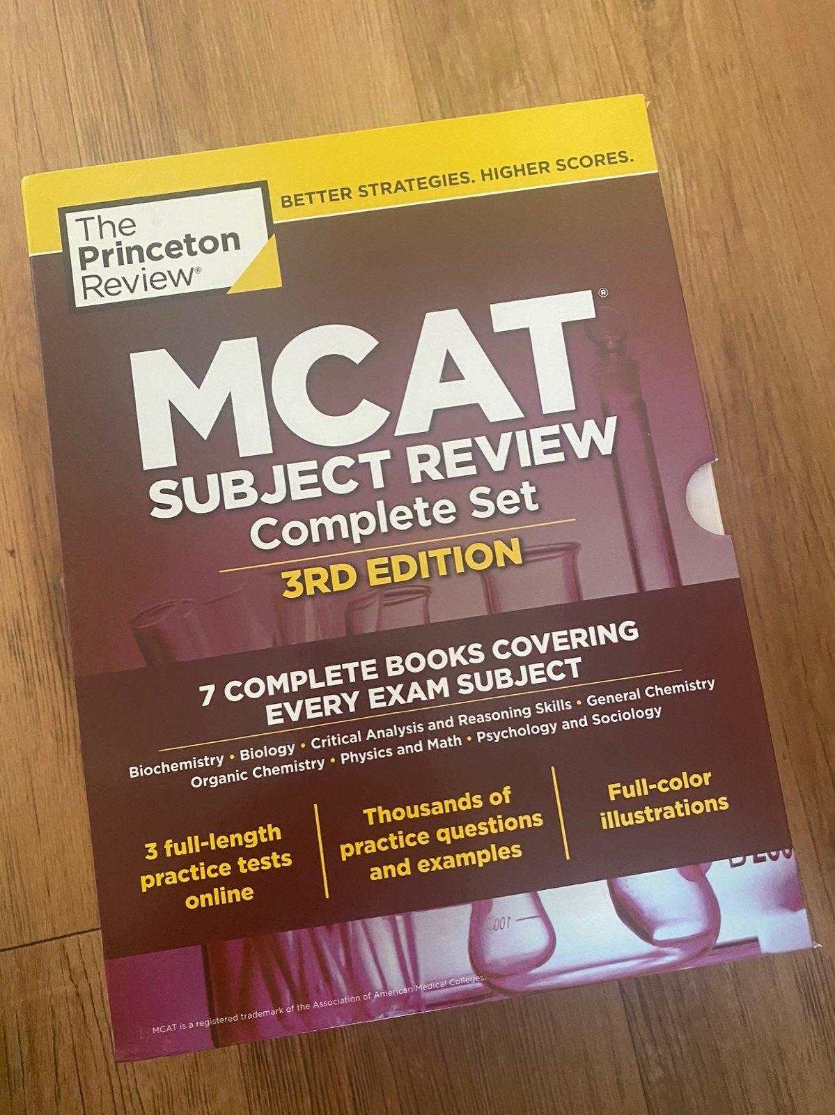 New MCAT 3rd Ed. Princeton