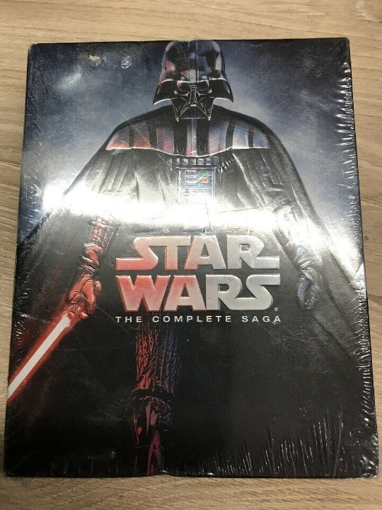 STAR WARS The Complete Saga 1 -6 DVD