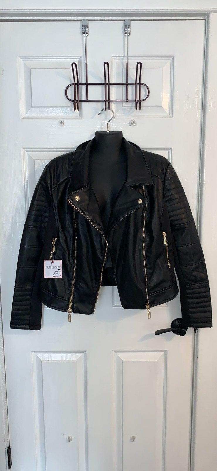 BisouBisou Michele Bohbot Leather Jacket