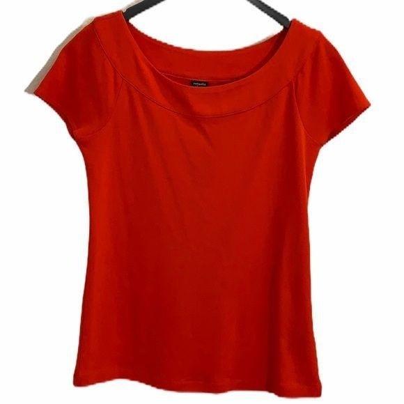 Rafaella Studio short sleeve top orange