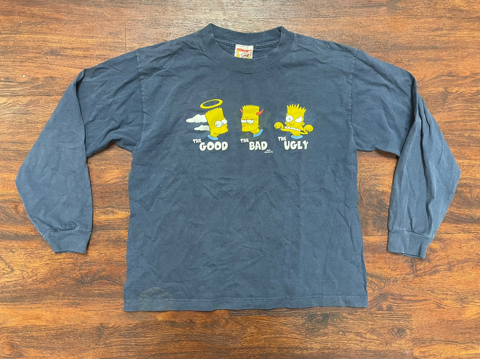 Bart simpson vintage size 16 shirt forei