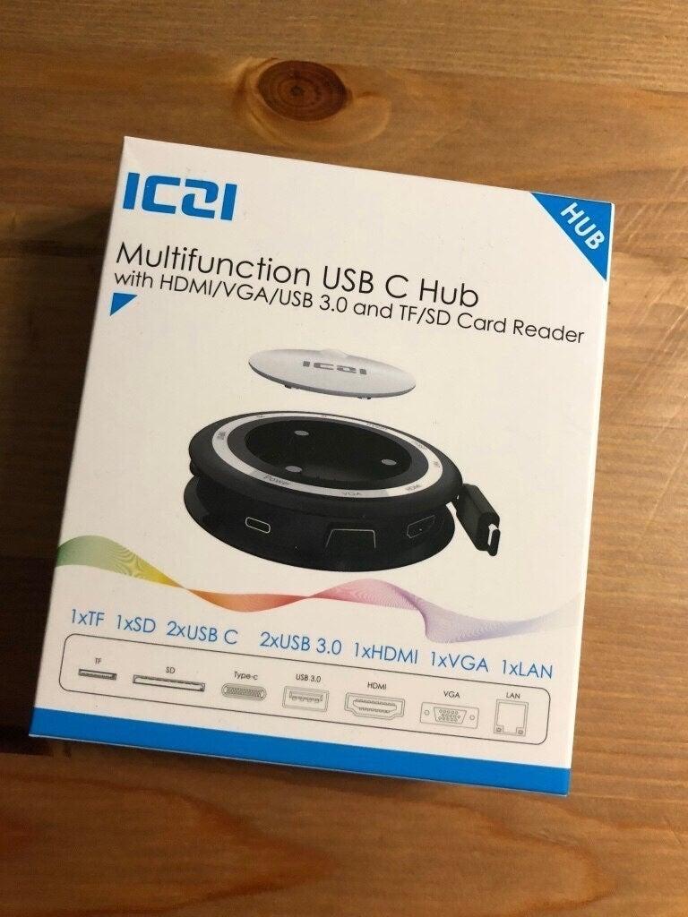 USB C Hub, 8-in-1