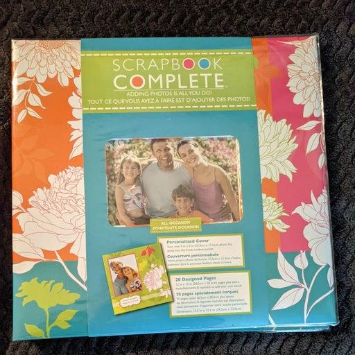 All Occasion Scrapbook Complete