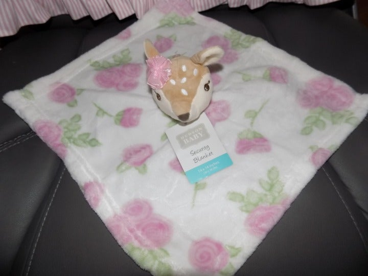 Hudson Baby Fawn Security Blanket NEW