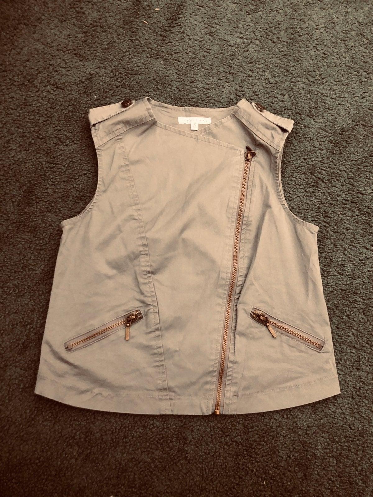 Size XS Army Green Vest